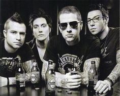 Avenged Sevenfold- what wouldn't I give to meet these men! (and Arin, this is clearly before he joined them)❤