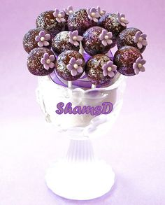 Cake Pops by ~ShamsD~, via Flickr