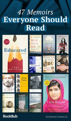 Memoirs chronicle powerful lives and share poignant stories. Here are the most m… Memoirs chronicle powerful lives and share poignant Books You Should Read, Best Books To Read, My Books, Best Non Fiction Books, Reading Books, Book List Must Read, Best History Books, Books To Read In Your 20s, Best Books Of All Time