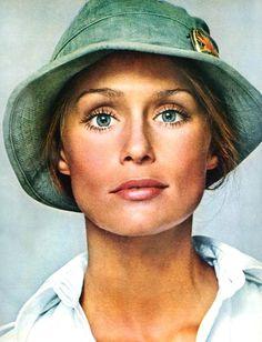 Lauren Hutton by Richard Avedon, 1973