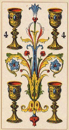 four of cups tarot card