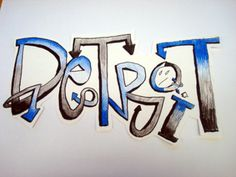 Graffiti-letters-shaded-with-colored-pencils.jpg 770×578 pixels