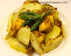 Cannelle et Cardamome : Vindaille de Poisson - Mauritian fried fish in dry mustard sauce
