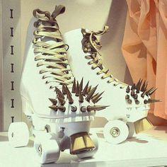 Roller Skate culture ma gueule spike, roller skate, roller derbi