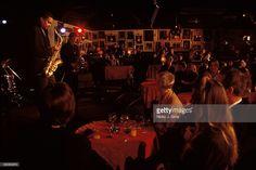 Interior shot of Ronnie Scotts, circa Soho Club, Cabaret Musical, London Nightclubs, Dream Bars, Jazz Bar, Jazz Club, Night Club, Festivals, Musicals