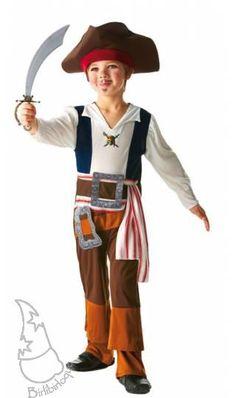 Disfraz de Jack Sparrow Infantil de Disney