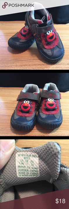 Stride Rite size 7.5 boys Elmo tennis shoes Stride Rite boys size 7.5 Elmo tennis shoes - perfect Stride Rite Shoes Sneakers