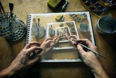 Paint the hands