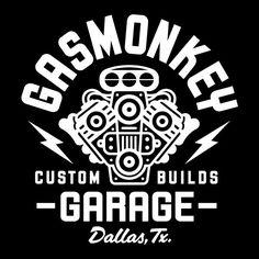 Logo of Gas Monkey Garage Logo of Gas Monkey Garage Gas Monkey Garage, Gas Monkey Logo, Gaz Monkey, Garage Logo, Design Garage, Badges, Motorcycle Logo, Motorcycle Posters, Marken Logo