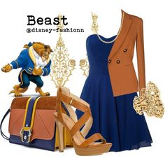 Beast Outfit from Beauty and the Beast