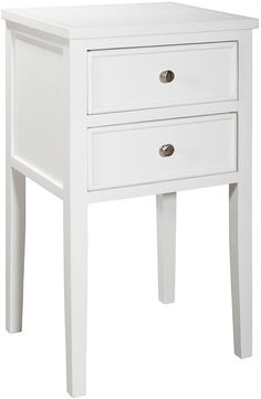 Here, Mission-style form is what's on display, thanks to a deliberate lack of frills. The perfect piece to complement your restful bedroom retreat. Furniture > Displays, Cabinets & Storage > Nightstands.