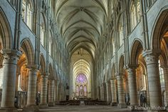 Catedral de Laon 1160 Nave central