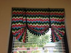 Love the simplicity of how she made these classroom curtains!!!