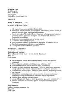 Code Clerk Sample Resume Mesmerizing 80 Best Medical Billing Specialist Images On Pinterest In 2018 .