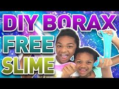 Kid Friendly - Borax Free Slime Free Slime, Girl Empowerment, Crafts For Girls, Kids Fashion, Youtube, Diy, Bricolage, Do It Yourself, Junior Fashion