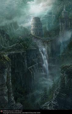 Old World by Dana Daukshta | 2D | CGSociety