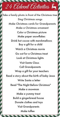 25 Ideas Diy Christmas Ideas For Kids Advent Calendar For 2019 Advent Calendar Activities, Advent Calenders, Diy Advent Calendar, Christmas Activities, Christmas Traditions, Calendar Ideas, Advent Calendar Fillers, Family Activities, Countdown Calendar