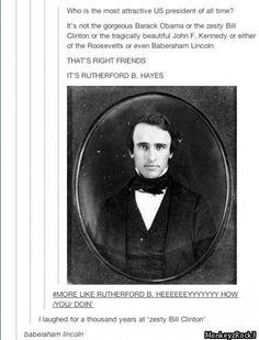 rutherford b hayes tumblr - Google Search