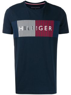 Tommy Hilfiger Cotton Cn tee LS Icon Camiseta para Hombre