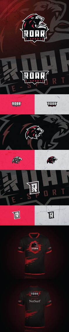 Roar E-Sports on Behance
