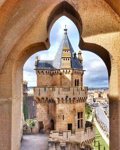 Palacio de Los Reyes de Navarra, Olite via : @markvzquez on IG. by @cavata74