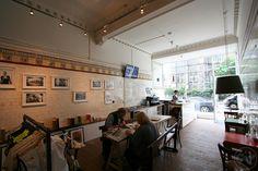Ronde bike cafe, Stockbridge, Edinburgh.