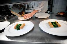 Galerie | RESTAURANT BLUE WAGON Plastic Cutting Board, Kitchen, Blue, Cooking, Kitchens, Cuisine, Cucina