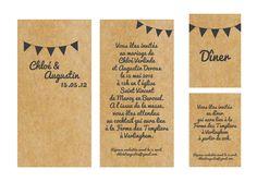 Trendy Wedding, blog idées et inspirations mariage ♥ French Wedding Blog: Mon petit faire-part à l'américaine