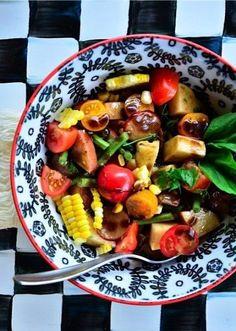 Farmer's Red Potato Salad Recipe | ReluctantEntertainer