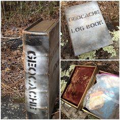 Fun log book geocache