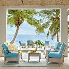 Editors' 50 Favorite Rooms | Al Fresco Living Room | CoastalLiving.com
