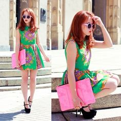 love the bright colors