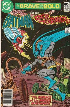 Brave & the Bold Vol. 25 No. 153  1979  Batman and Red Tornado by TheSamAntics
