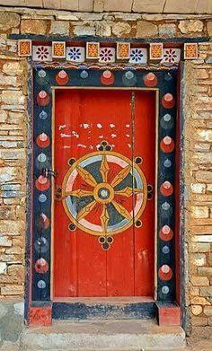 Door, Paro - Bhutan