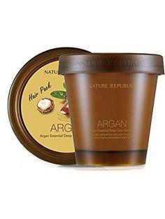 Nature Republic Argan Essential Deep Care Hair Pack ❤ Nature Republic