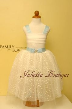 Delicate tulle formal dress for girls Special by juliettaboutique, $127.00