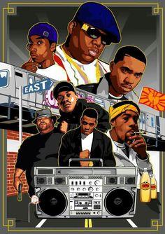 90s East Coast hip hop