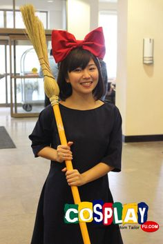 Kiki Cosplay from Kiki's Delivery Service in Con-G: Guelphs Anime and Geek Culture Convention 2013 CA