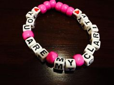 ON SALE You Are My Clarity Kandi Bracelet by KandilandUSA on Etsy, $2.50