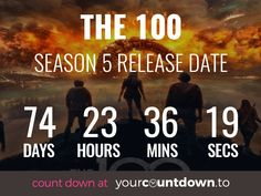 The 100 Countdown To The 100