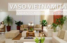 Vasos vietnamitas na decoração de ambientes internos e externos – saiba mais sobre essa tendência!