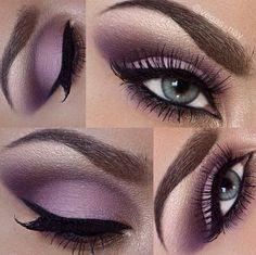 Purple/plum shadow