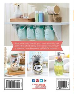 mason jar projects are offered on our web pages. Read more and you wont be sorry you did. Mason Jar Projects, Mason Jar Crafts, Mason Jar Diy, Diy Hanging Shelves, Floating Shelves Diy, Diy Home Decor Projects, Diy Projects To Try, Craft Projects, Chalk Paint Mason Jars