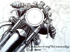 Cafe Racer 6 prog 2