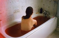 After a long hard day at work, it feels good to bathe in the blood of your enemies.
