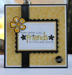 Friends by sweetpeas - Cards and Paper Crafts at Splitcoaststampers
