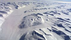 A aerial view of Antarctica from a Royal New Zealand Air Force C-130  Hercules February 7, 2002. Britian's Princess Anne is on a three-day  visit to the world's driest, coldest and windiest continent for the  centenary celebrations of the arrival to Antarctica of British explorer  Robert Scott and the launching of an international appeal to restore  four historic huts of the early Antarctic explorers. REUTERS/Pool/Mark