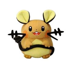 Pokemon TAKARA TOMY Plush Doll : Dedenne