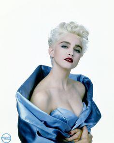 Madonna - retro, 80's, true blue.