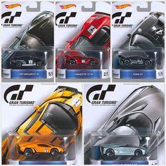 Hot Wheels Cars Retro Series Gran Turismo Case Preorder